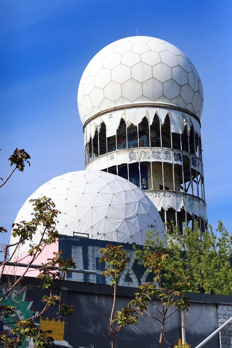Die verlassene Abhörstation auf dem Teufelsberg ist ein Muss für alle Grusel-Fans.