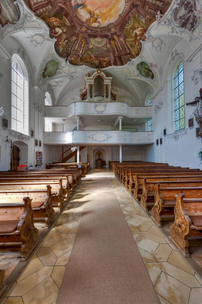 Im Kloster Wessobrunn soll eine Frau umhergeistern.