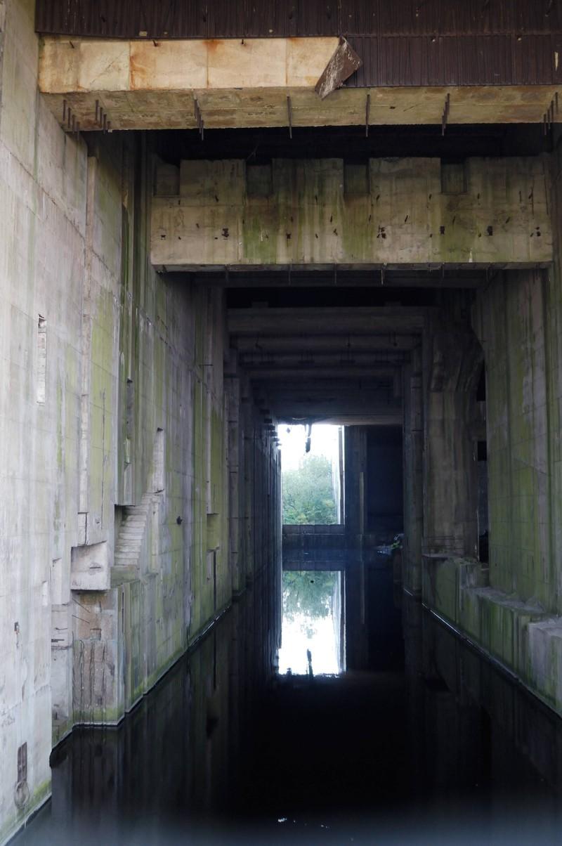 U-Boot-Bunker Valentin gibt einen wahrlich grusligen Anblick ab.