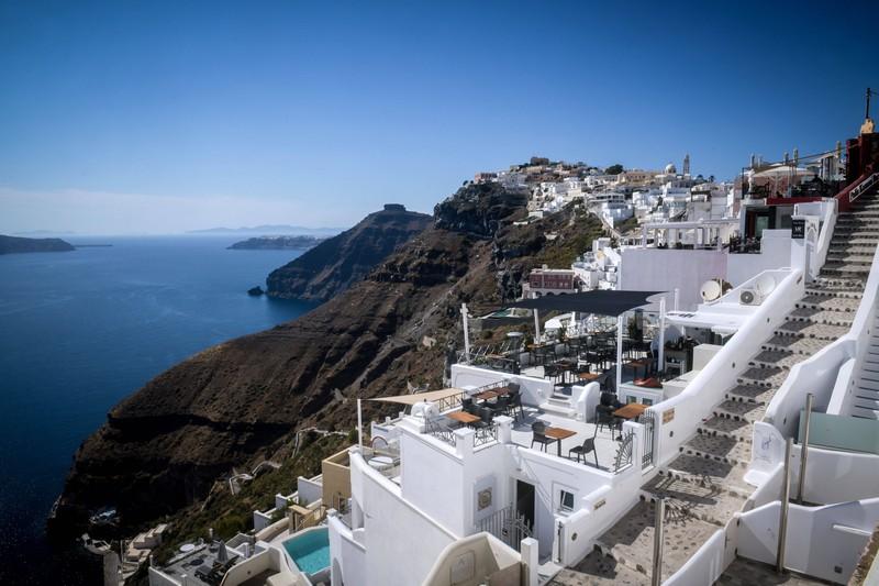 Santorin ist ein Ort in Griechenland.