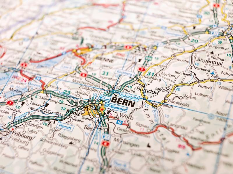Bern ist die Metropole der Schweiz.