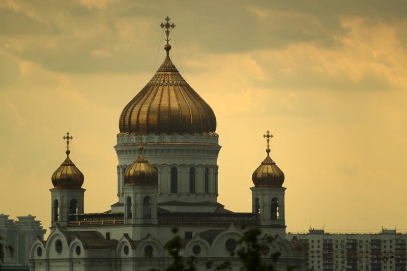 Die Christ-Erlöser-Kathedrale liegt in der Hauptstadt Russlands.