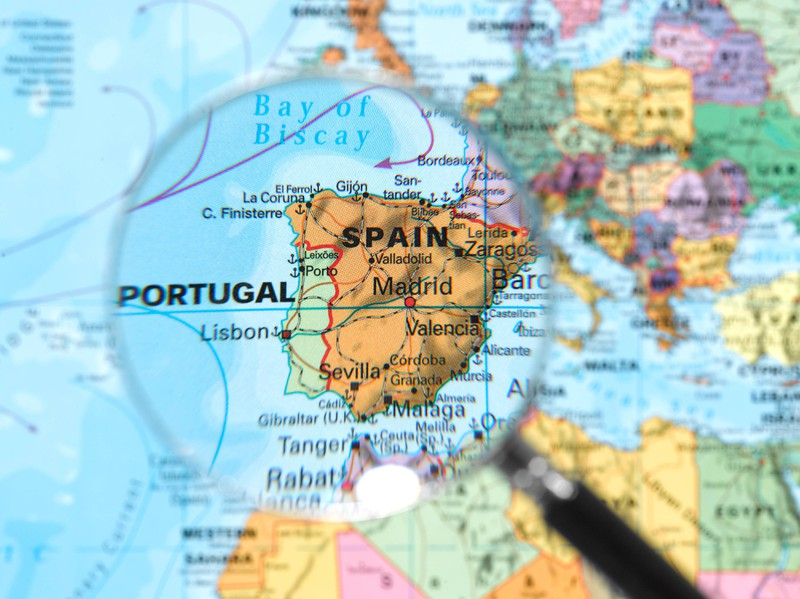 Madrid ist die Hauptstadt von Spanien.