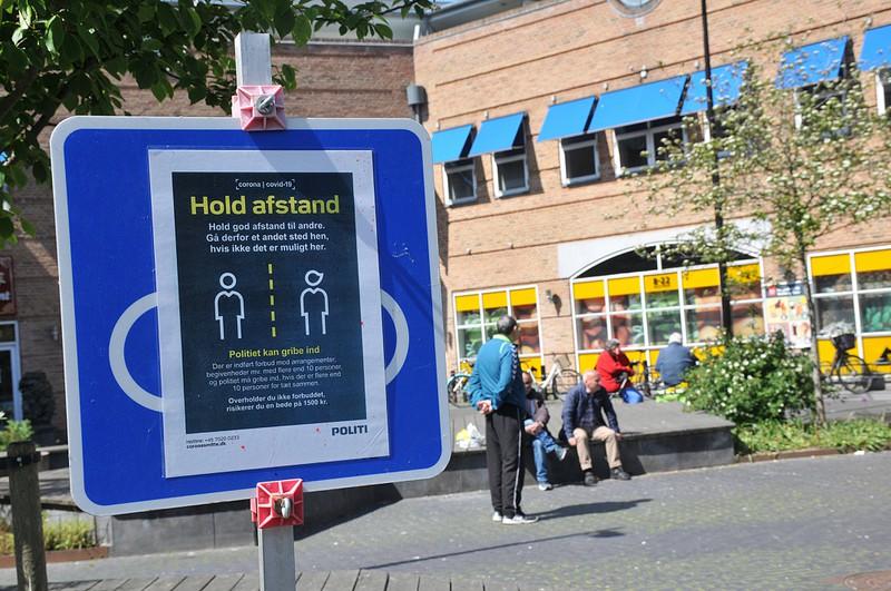 In Dänemark sollen alle Menschen Abstand halten