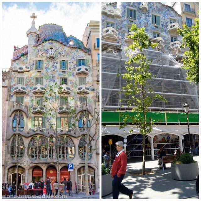 Casa Batlló in Barcelona ist ebenfalls ein Fail im Urlaub