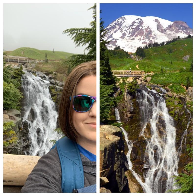 Der Mount Rainier ist auf dem Bild nicht zu sehen