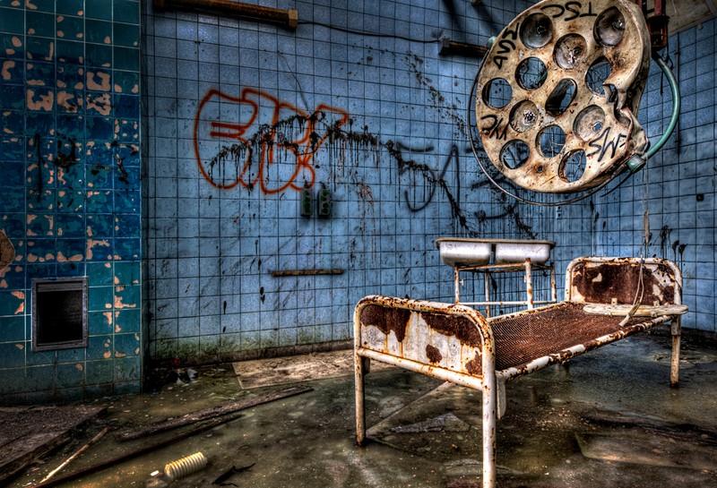 Beelitz-Heilstätten ist ein Spukort