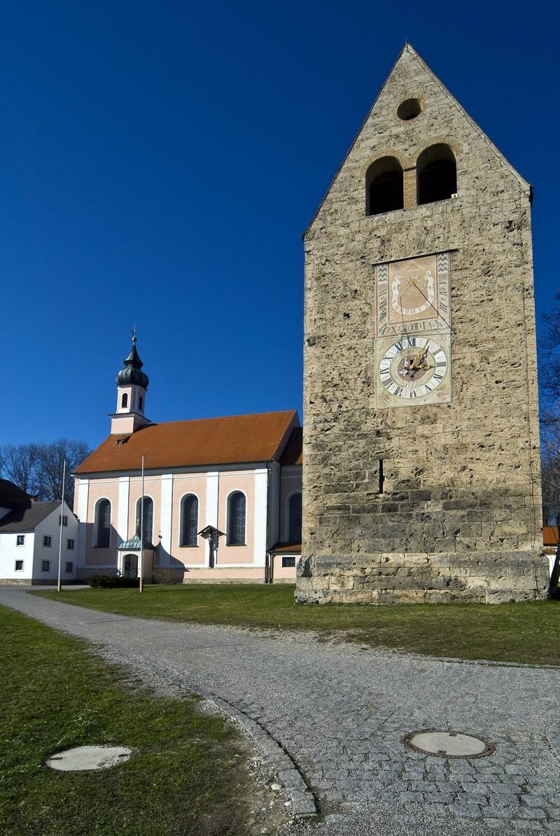 Im Kloster Wessobrunn soll es spuken