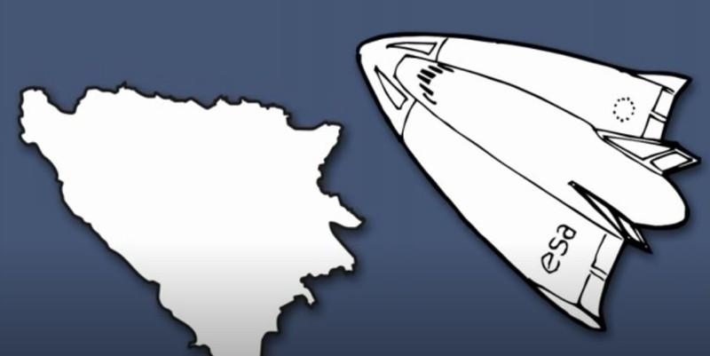 Das europäische Land Bosnien und Herzegowina erinnert ihn an ein Raumschiff.