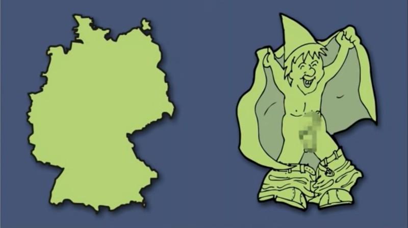 Deutschland ist etwas unanständig