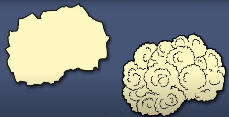 Wer hätte in Nordmazedonien noch Blumenkohl gesehen?