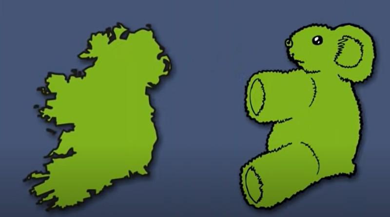 Zackabier gibt Irland die knuffige Erscheinung eines Teddybären.