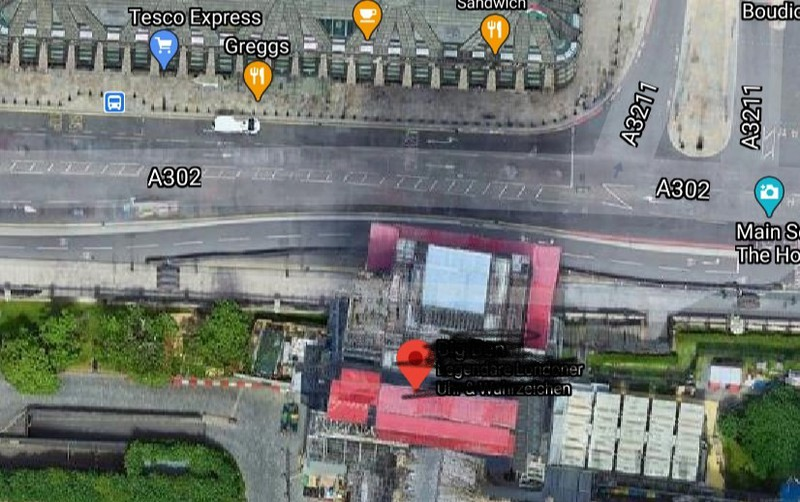 Das bekannte Wahrzeichen befindet sich in London.